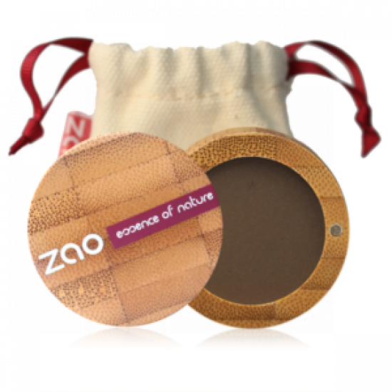 ZAO Matt Eye Shadow 203 Dark Brown