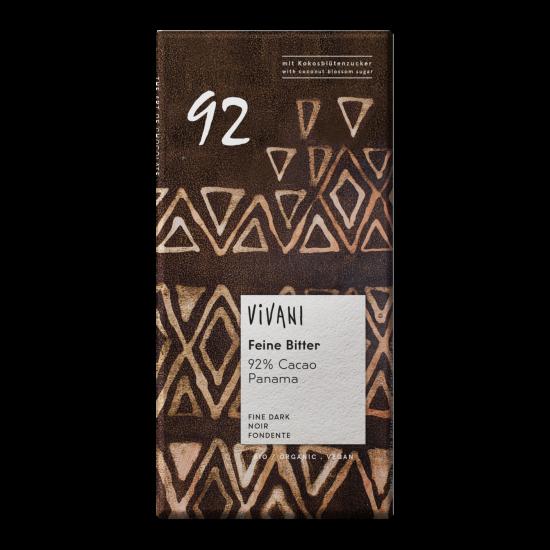 Vivani, mørk sjokolade (92%)