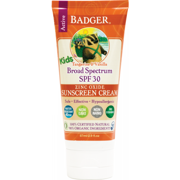 Badger solkrem SPF30 kids
