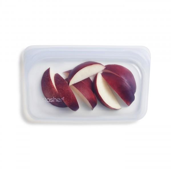 Stasher bag Snack clear med epler