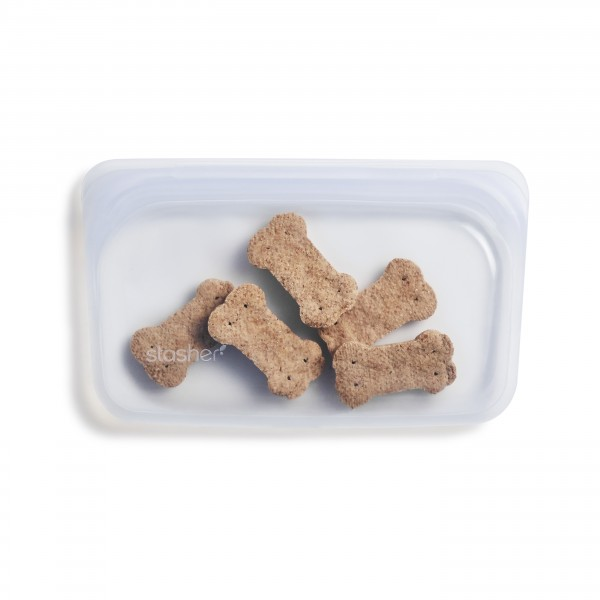 Stasher bag Snack clear hundekjeks