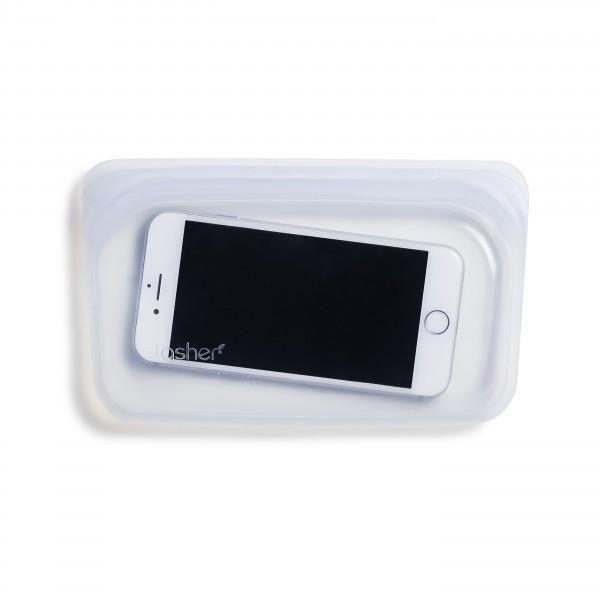 Stasher bag Snack clear mobilbeholder