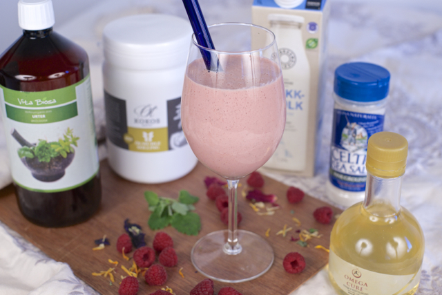 Økologisk smoothie