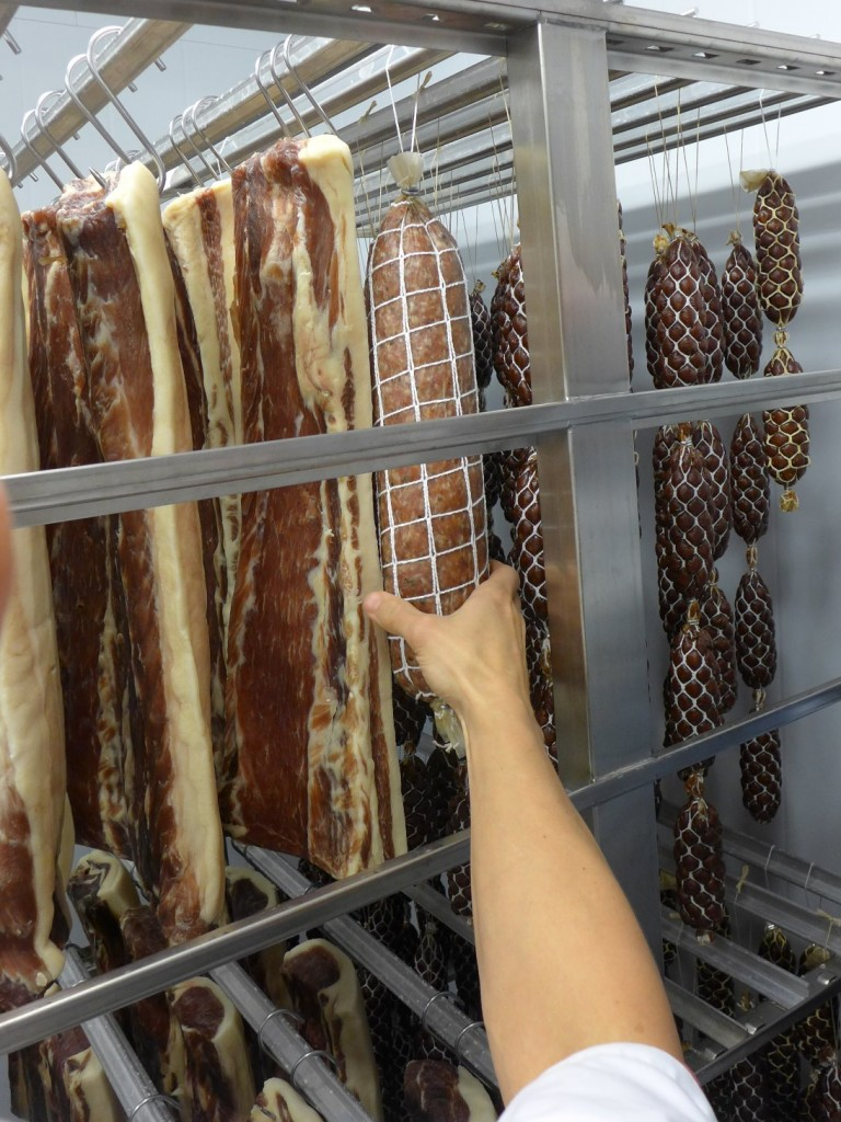 økologisk bacon spekepølse
