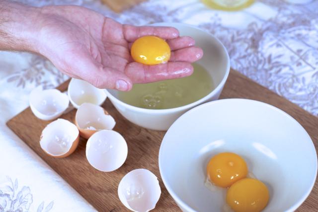 økologisk smoothie eggeplomme