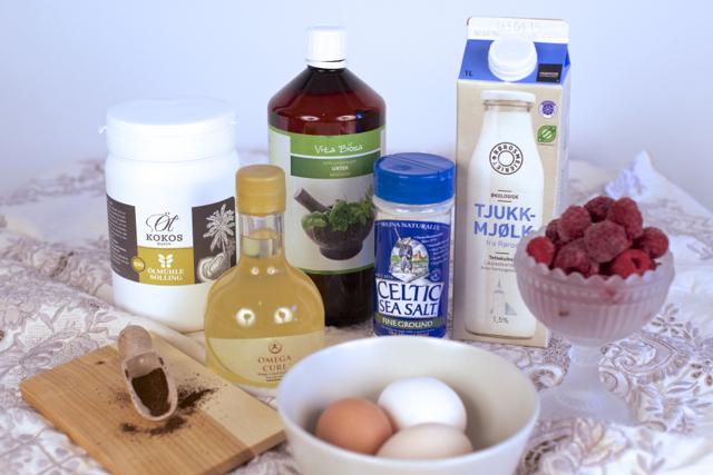 økologisk smoothie ingredienser