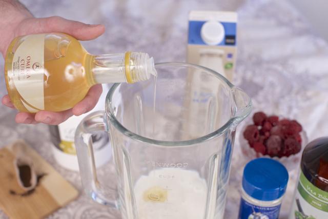 økologisk smoothie omega cure