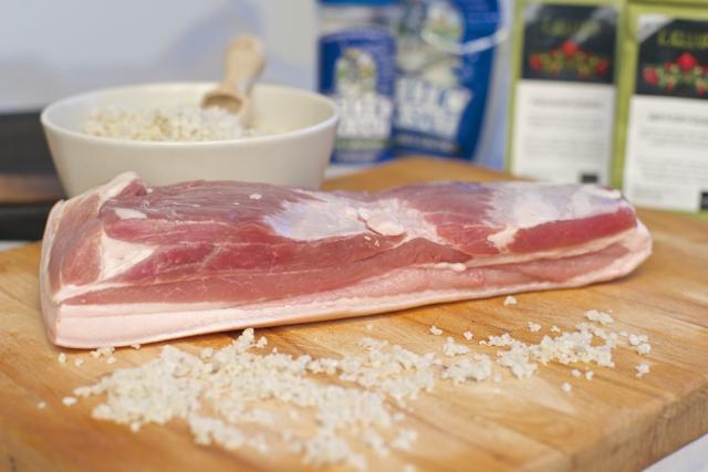 Salte bacon