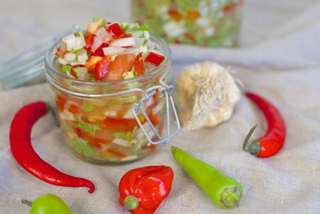 Fermentert salsa