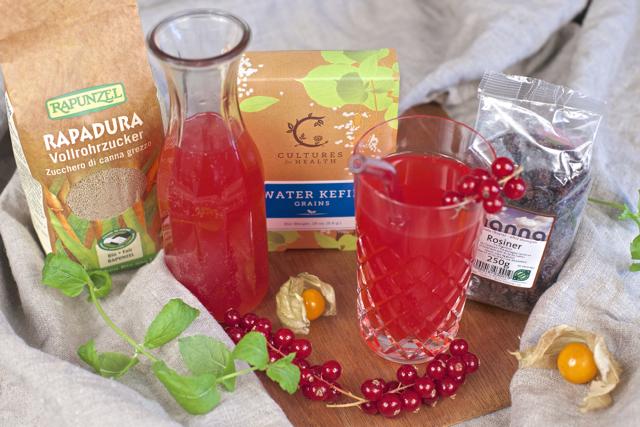 Vannkefir økologisk drikk ingredienser