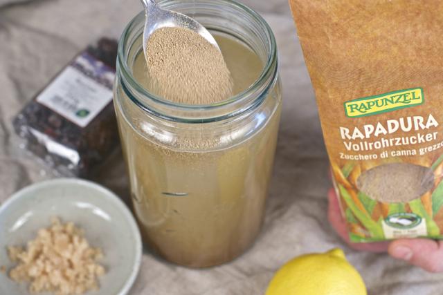 kefirkorn økologisk uraffinert sukker