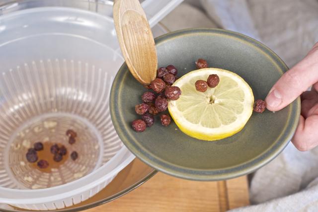 kefirkorn vannkefir økologiske rosiner