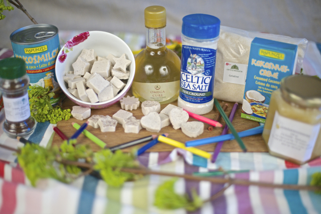 gelegodis med økologiske ingredienser