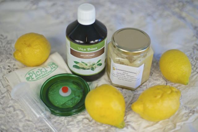 hjemmelaget limonade oppskrift