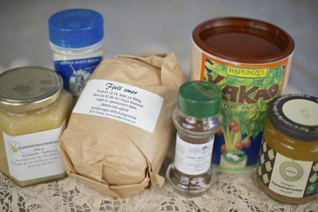 hjemmelaget nougat ingredienser