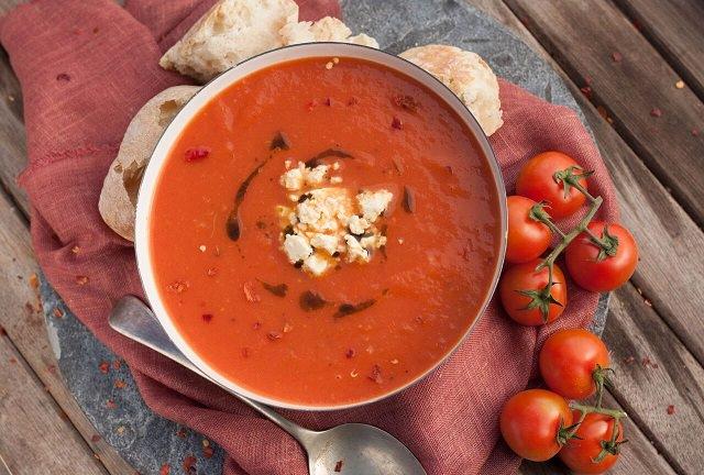 tomatsuppe i wonderbag