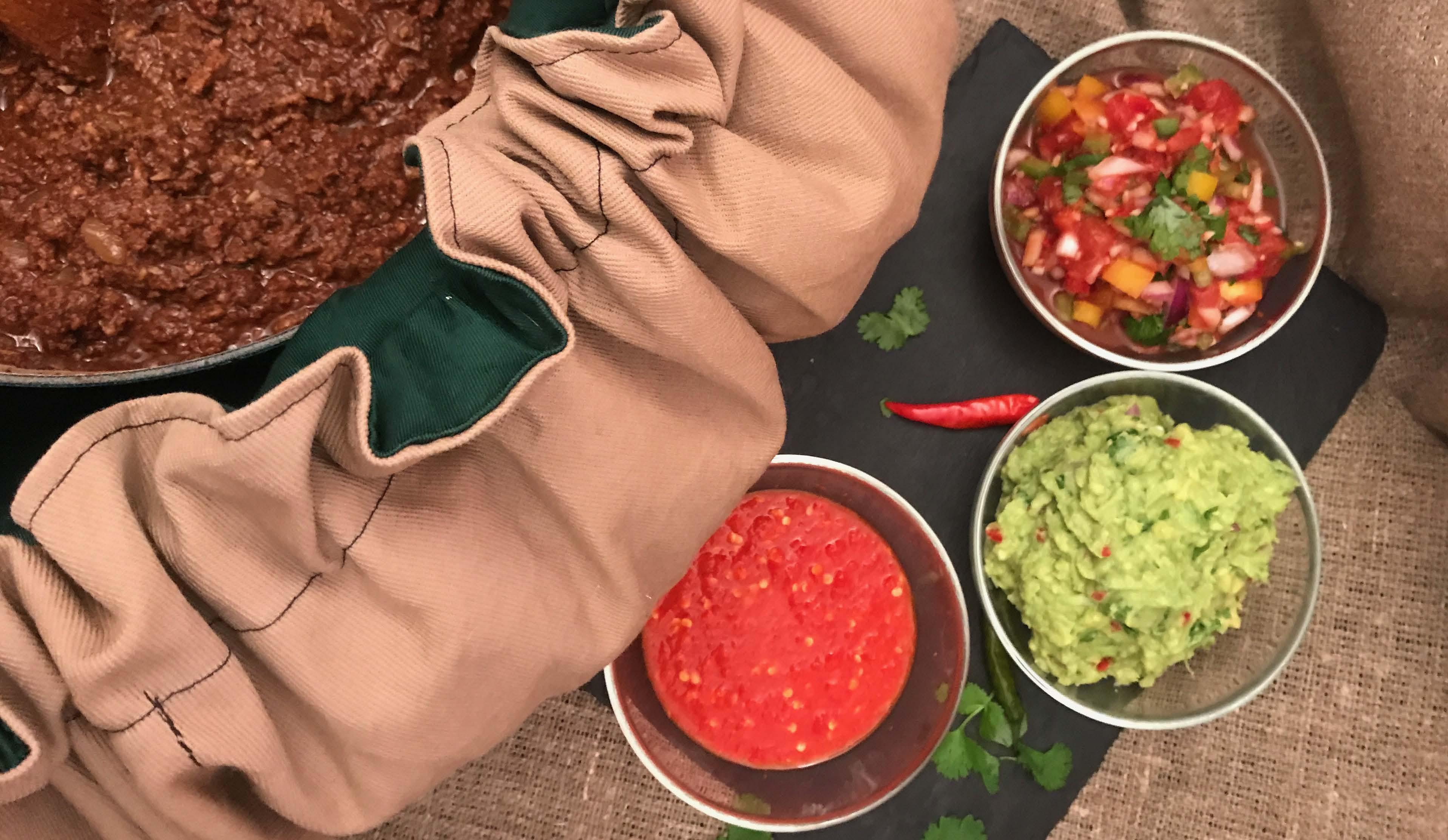 Hjemmelaget taco i Wonderbag